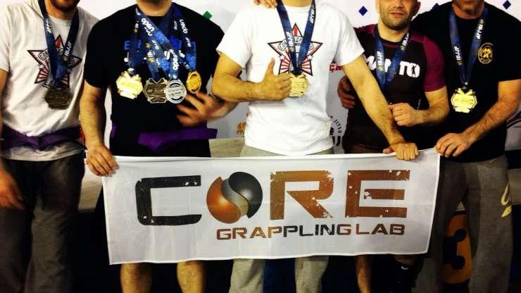 Pioggia di medaglie all'Europeo NoGi di Jiu Jitsu