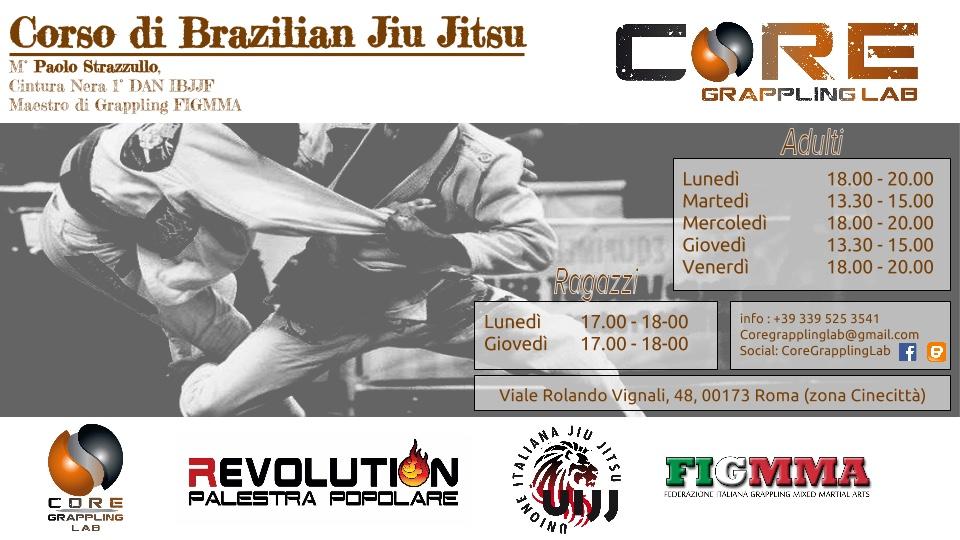 Jiu Jitsu Brasiliano a Cinecittà