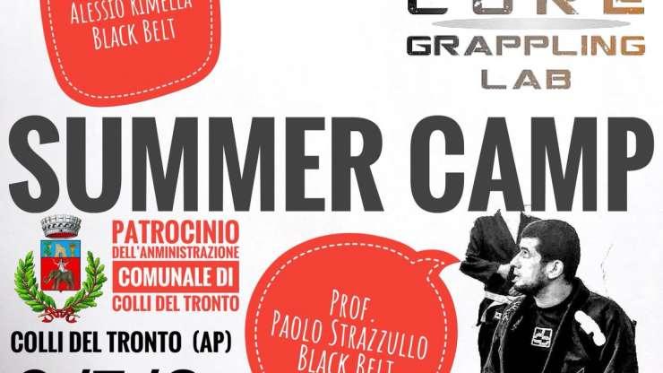 Summer Camp del Core Grappling Lab