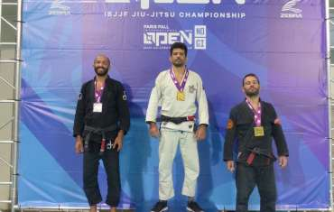 Oro Strazzullo al Paris IBJJF Open 2019